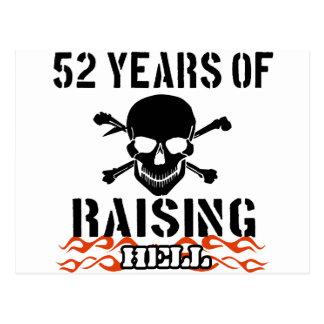 52 años de infierno de aumento postal