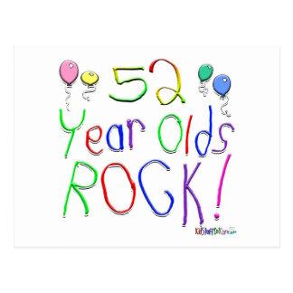¡52 años de la roca! postal