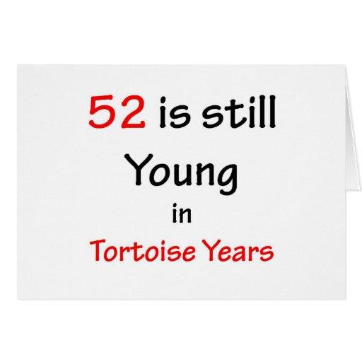 52 años de la tortuga felicitaciones