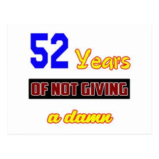 52 años de no dar a postal