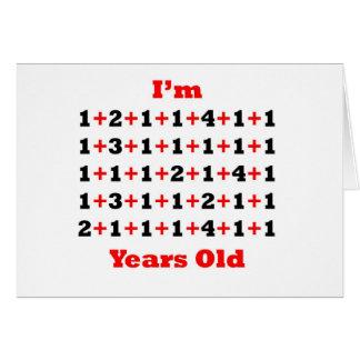 52 años del rojo del negro tarjetas