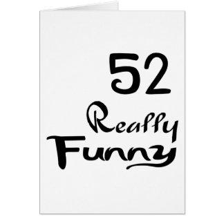 52 diseños realmente divertidos del cumpleaños tarjeta
