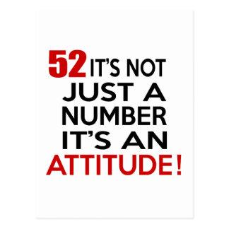52 no es apenas un número que es una actitud postal