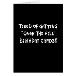 52.o saludo divertido del cumpleaños tarjeta