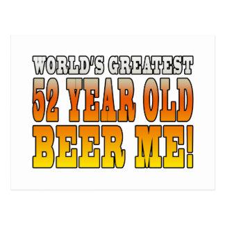52 os cumpleaños divertidos Años más grandes de l
