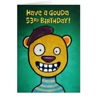 53.a tarjeta de cumpleaños divertida para ella