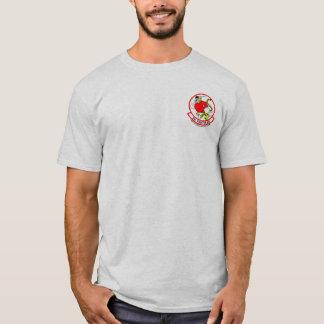 53 TFS Eagle de alta tecnología - de color claro Camiseta