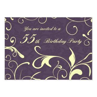 55.as tarjetas de la invitación de la fiesta de