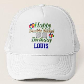 55.o cumpleaños feliz gorra de camionero