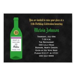 Santo Caballa aniversario Greeting Card 55 55th cincuenta quinto