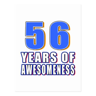 56 años de Awesomeness Postal