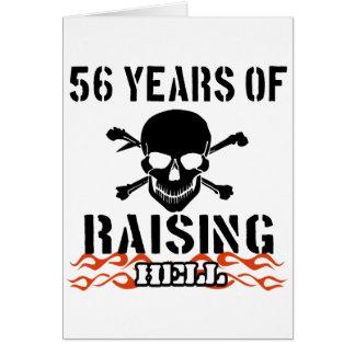 56 años de infierno de aumento felicitaciones