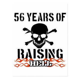 56 años de infierno de aumento postal