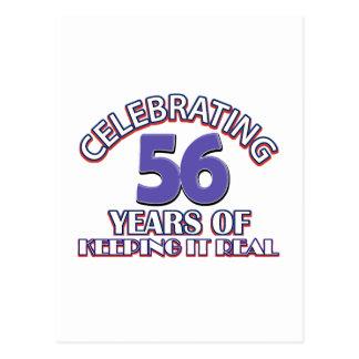56 años de mantenerlo real postal