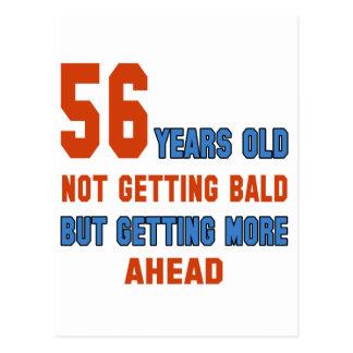 56 años, no consiguiendo calvos postal