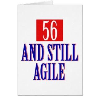 56 años y aún ágil