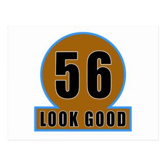 56 buenos diseños del cumpleaños de la mirada postal