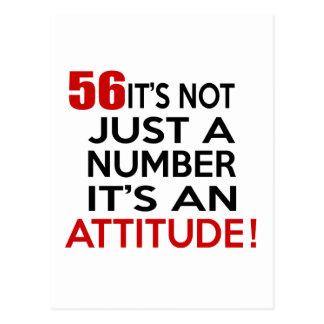 56 no es apenas un número que es una actitud postal