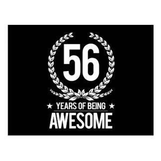 56.o Cumpleaños (56 años de ser impresionantes) Postal