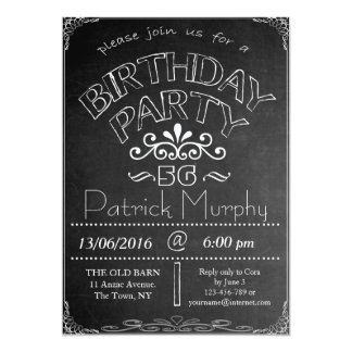 56.o Invitación de la celebración del cumpleaños