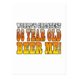 56.os cumpleaños divertidos: Años más grandes de Postal