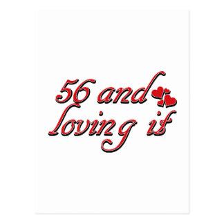 56 y amor de lo postal