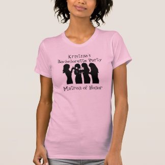 58192, fiesta de Bachelorette de la chica marchosa Camisetas