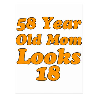 58 años de la mamá miran 18 postal