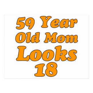 59 años de la mamá miran 18 postal