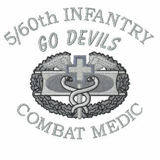 5/60o Inf. Camisa bordada insignia médica del