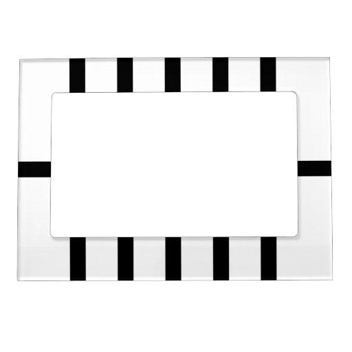 5 bisecó líneas negras marcos magnéticos