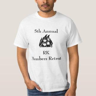 5to Camiseta anual de la acampada de RK