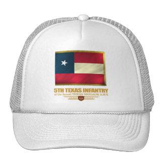5to Infantería de Tejas Gorros