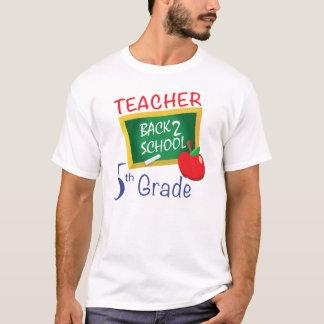 5to Profesor del grado Camiseta
