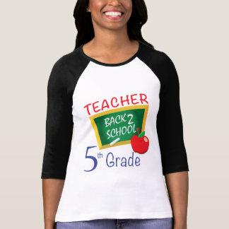 5to Profesor del grado Camisetas