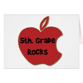 5to Rocas del grado Felicitación