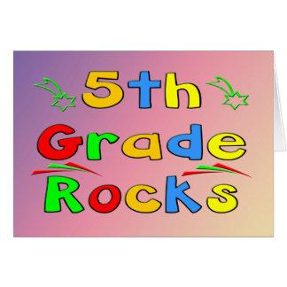 5to Rocas del grado Felicitacion