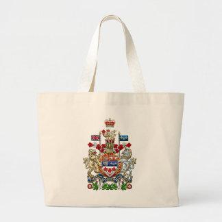 [600] Escudo de armas de Canadá [3D] Bolsa Tela Grande