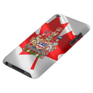 [600] Escudo de armas de Canadá [3D] Cubierta Para iPod De Barely There