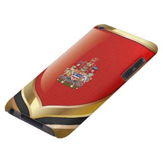 [600] Escudo de armas de Canadá [3D] Funda Case-Mate Para iPod