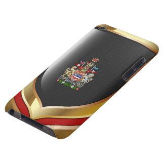 [600] Escudo de armas de Canadá [3D] Funda Para iPod