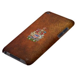 [600] Escudo de armas de Canadá [3D] Funda Para iPod De Case-Mate