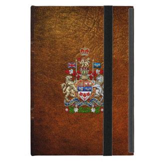 [600] Escudo de armas de Canadá [3D] iPad Mini Carcasas