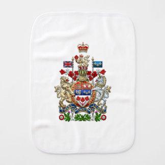 [600] Escudo de armas de Canadá [3D] Paños Para Bebé