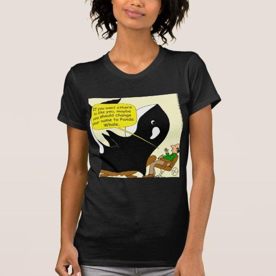 605 orca o dibujo animado de la panda camiseta