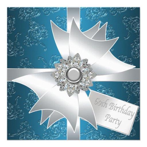 60.a fiesta del cumpleaños del diamante de la muje comunicados personales