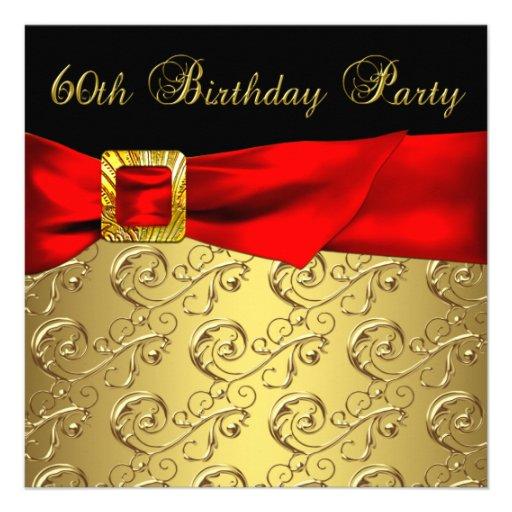 60.a fiesta del cumpleaños del oro del negro de la comunicados