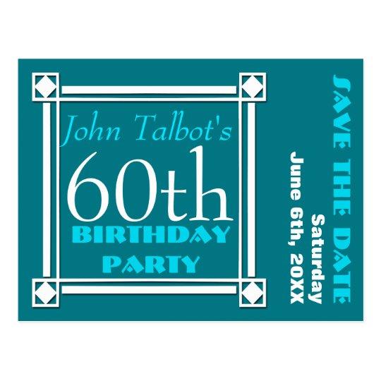 60.a reserva retra de la fiesta de cumpleaños de W Postal