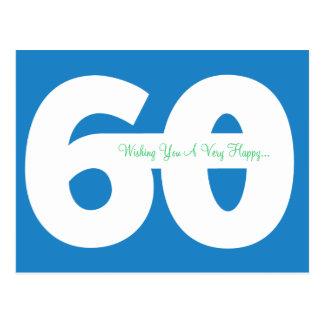 60.as postales felices del jalón del cumpleaños -