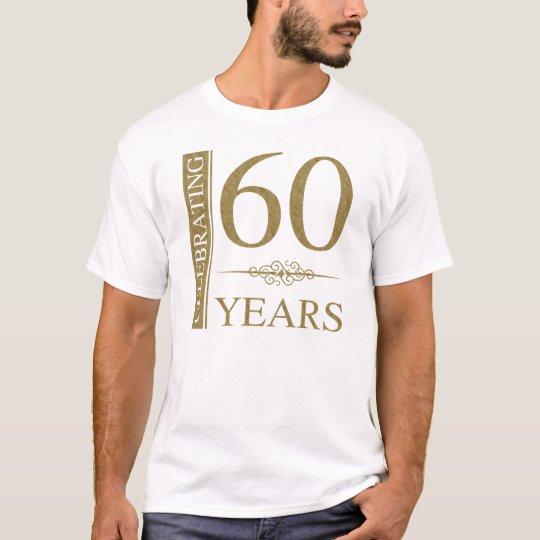 60.o Aniversario de boda Camiseta